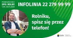SpisRolny przez telefon