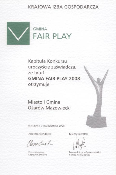 Gmina FAIR PLAY(208)