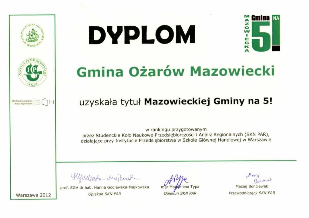 dyplom_MazowieckaGminaNa5 (2012)