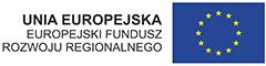 Logotyp 'Unia Europejska Europejski Fundusz Rozwoju Regionalnego'